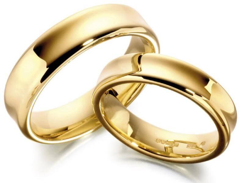 Obrączki, symbol ślubu