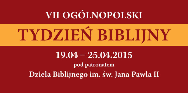 VII Ogólnopolski Tydzień Biblijny
