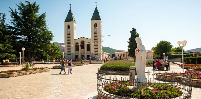 Medjugorje - Madonna i Sanktuarium