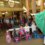 Poświęcenie przyborów szkolnych - wrzesień 2015