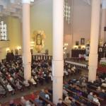 Przyjęcie relikwii krwi Św. Jana Pawła II