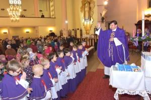 Poświęcenie strojów liturgicznych