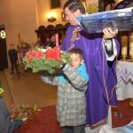 Poświęcenie wieńców Adwentowych - I Niedziela Adwentu 2015