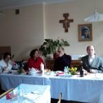 Rada diecezjalna z moderatorem ks. Danielem